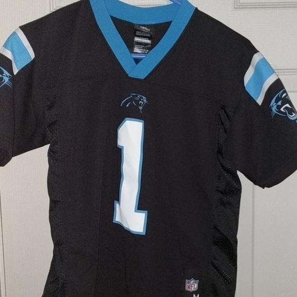 newest ba859 e7c42 Kids NFL Carolina Panthers jersey